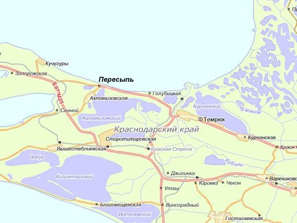 карта рыбака темрюкского района